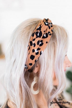 sku9149 | Animal Print Head Wrap