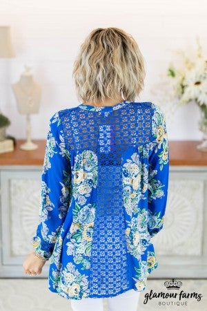 Summer Crush Floral Tunic