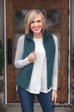 Warm Hearted Sherpa Vest