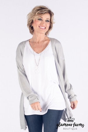 Not Your Basic Lightweight Cardigan