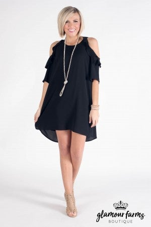 In Spring Mode Ruffle Tunic Dress