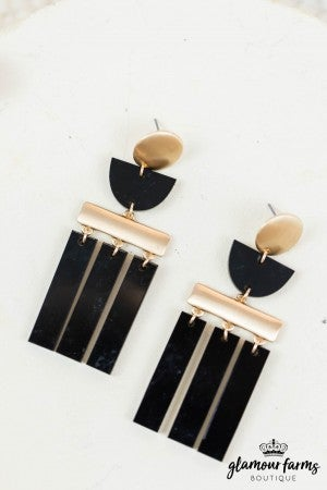 sku8014 | Tassel Acrylic Earrings