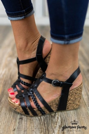 Humble Braided Platform Sandal
