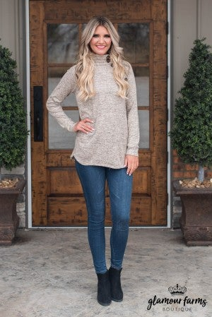 Basic Beauty Button Tunic