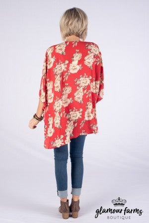Find Yourself Floral Kimono