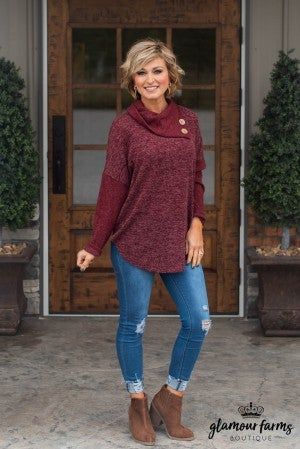 Make It Happen Tunic Sweater
