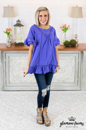 Ruffle Love Tunic