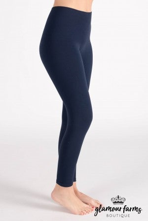 sku013c | Curvy Ahh-mazing Tummy Tuck Crop Legging