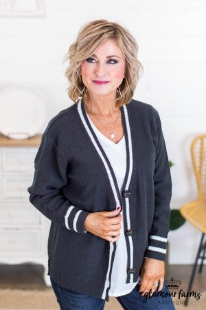 sku10830 | **DOORBUSTERS** Button Up Sweater Cardigan