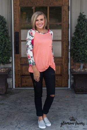 **Daily Deal** Living The Life Knot Top