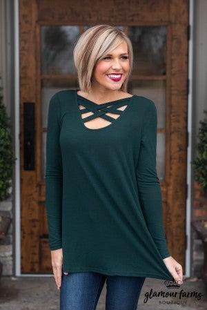 **Daily Deal** Double Crossed Tunic