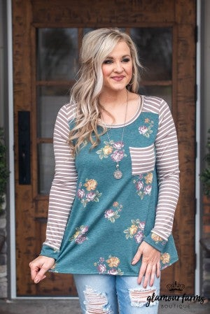 **Daily Deal** In Harmony Floral Top