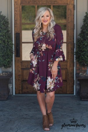 Dance With Me Floral Dress