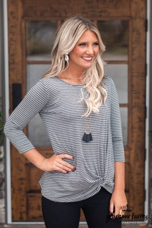 **Daily Deal** Santana Front Twist Top