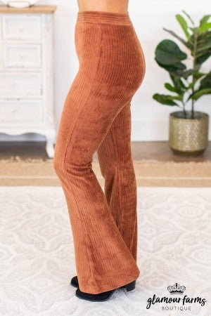 sku9273 | **Daily Deal** Corduroy Flare Pants
