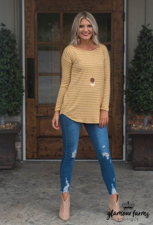 Emmaline Stripe Top/Tunic