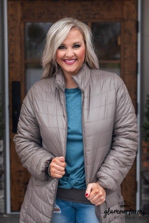**Daily Deal** Blanket The Night Quilted Coat