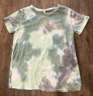 sku12147 | Tie Dyed Pocket Tee