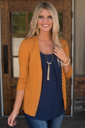 **Daily Deal** Cameron Three Quarter Sleeve Cardigan