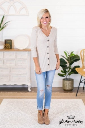 sku9423 | **Daily Deal** Button Down Cardigan