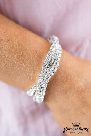 sku7857 | Crystal Stretch Bracelet