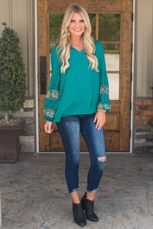 **Daily Deal** Adore You Peasant Blouse