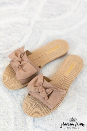 sku8434 | **Daily Deal** Athena Espadrille Bow Sandal
