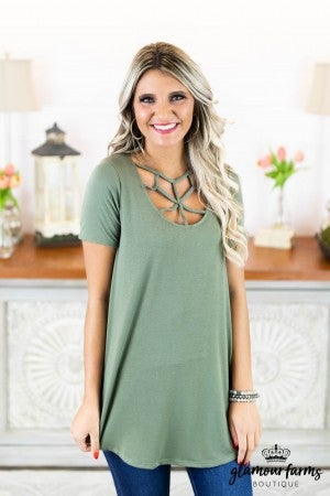 **Daily Deal** Web Of Love Strappy Tunic