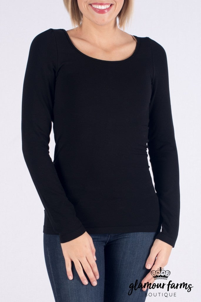 Curvy| Ahh-mazing Long Sleeve Shaper