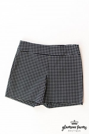 sku12842  Striped Woven Shorts