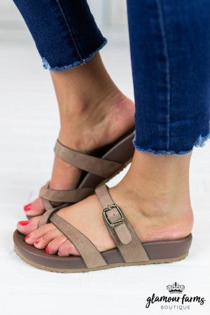 Heavenly Slip-On Sandal