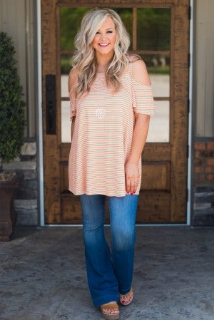 Brendall Cold Shoulder Tunic
