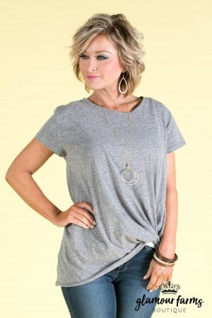 The Loni Gathered Tee