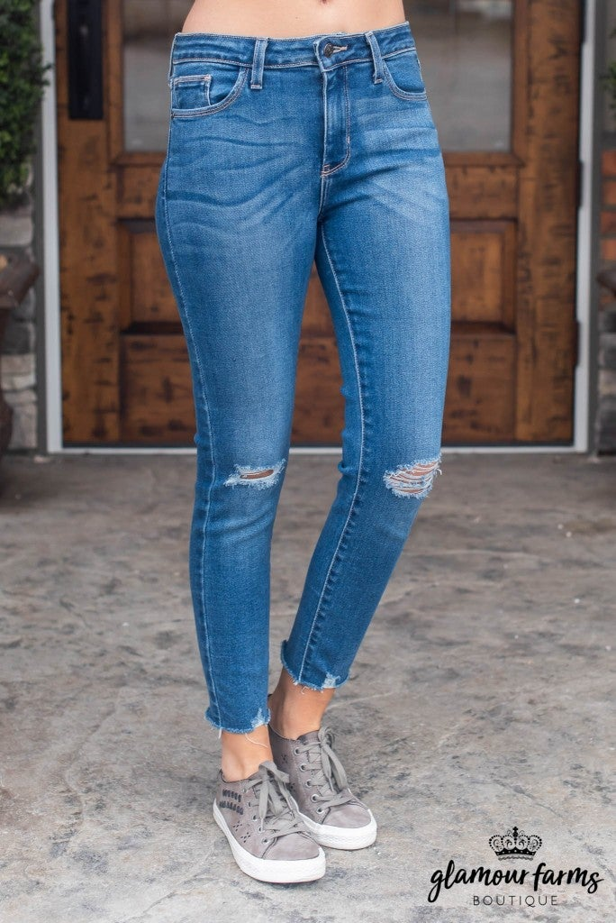 Cait Distressed Skinny Jean