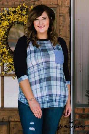 Plaid Perfection Baseball Tunic