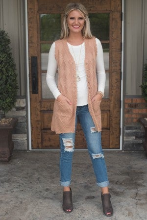 It's Your Love Crochet Vest