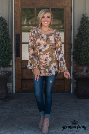 Full Array Floral Tunic