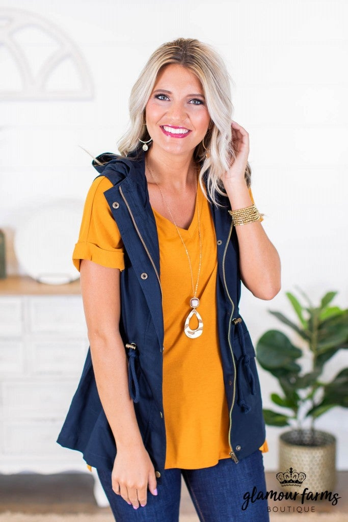 sku9029 | **Daily Deal** Hooded Utility Vest