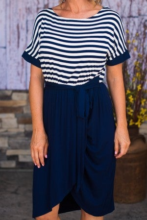 Sunday Striped Dress