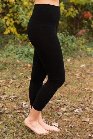 Ahh-Mazing Tummy Tuck Crop Legging - Black