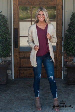 Annabelle Button Sweater Cardigan