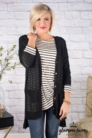 Casual Statement Cardigan