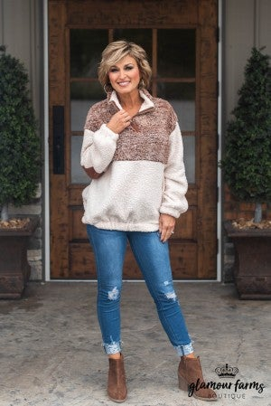 Cozy Calls Sherpa Pull-Over