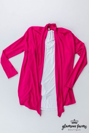 sku13323 | **Daily Deal** Draped Front Cardigan