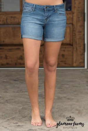 Brooke Rolled Cuff Shorts