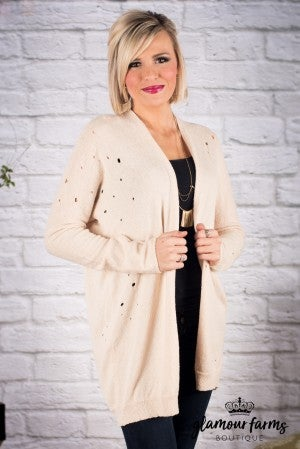 **Daily Deal** Addison Distressed Cardigan