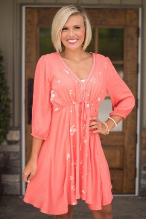 **Daily Deal** Lily Rose Embroidered Dress