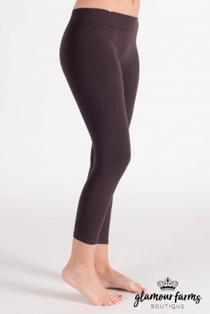 Curvy| Ahh-mazing Crop Legging