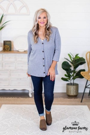 sku9400 | **Daily Deal** Button Down Cardigan