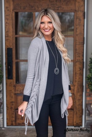**Daily Deal** Monroe Ruched Cardigan